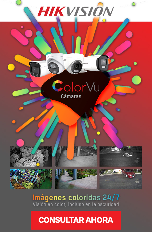 Camaras COLOR VU de HIKVISION en Stock